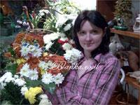 חתול מפרחים עבודה פרחי בלנקה